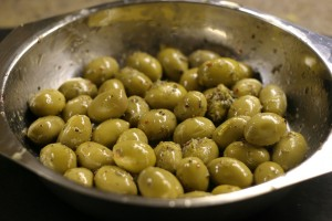 Marinated Olives with Lemon and Oregano