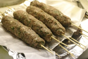 Barbecue the kafta over medium high heat until cooked through. This ...