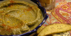 Indian Spiced Eggplant Dip