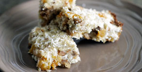 Quinoa Coconut Bars