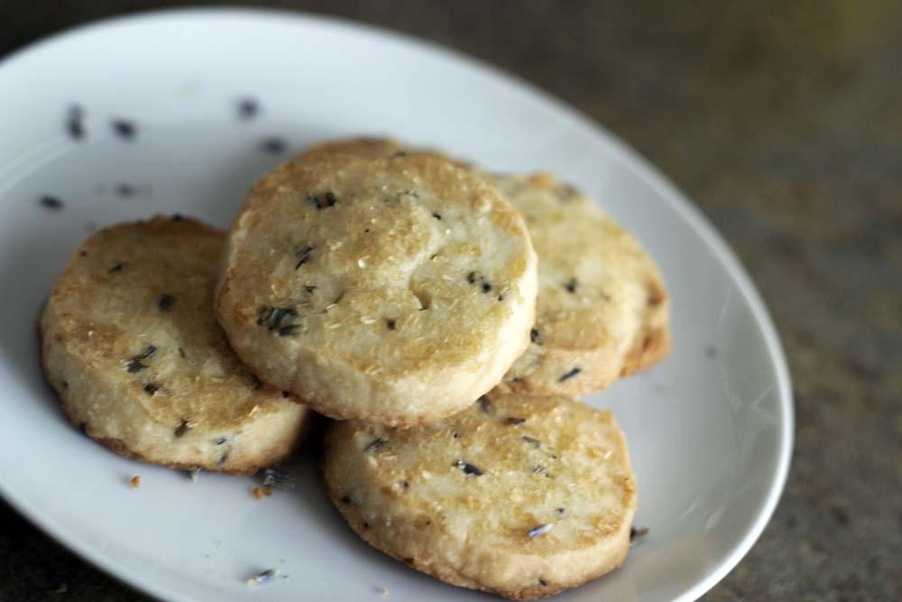 Lavender Lemon Butter Cookies | Choosy Beggars