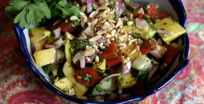 Spicy Sweet Thai Mango Salad