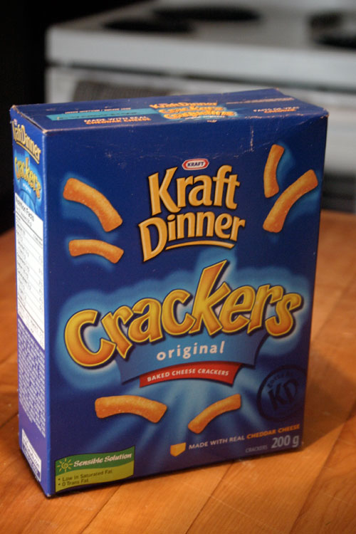 This snack doesnt suck kraft dinner crackers choosy beggars img1412 solutioingenieria Choice Image