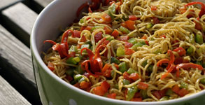 Singapore Noodle Salad