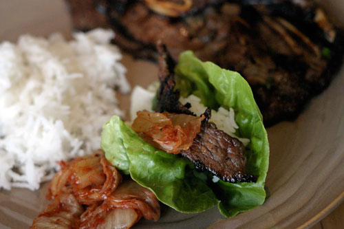 Kalbi:  Korean BBQ Short Ribs