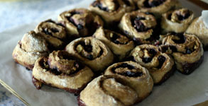 Whole Wheat Bumbleberry Breakfast Buns