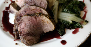 Moroccan Spiced Tenderloin with Honeyed Shiraz