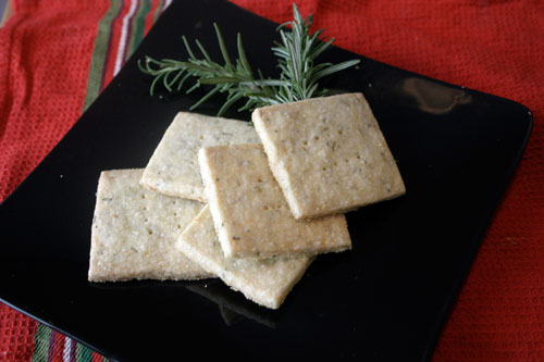 Orange and Rosemary Cornmeal Cookies