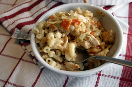 Pub Night: Buffalo Wing Macaroni and Cheese