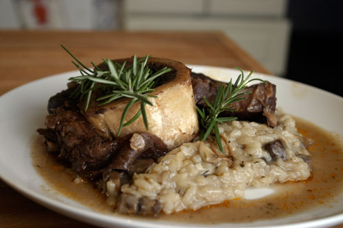 Port Braised Beef Shanks