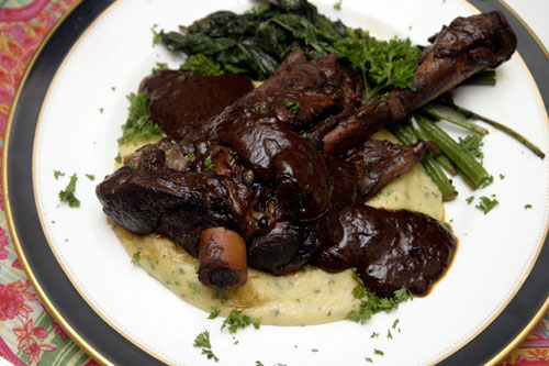 Lamb Loin With Chocolate Port Sauce Recipes — Dishmaps