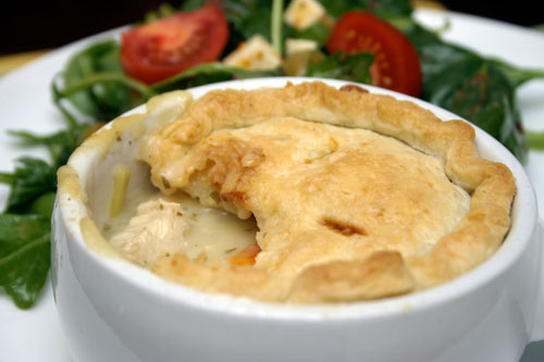 Chicken and Tarragon Pot Pie   with shortcuts!