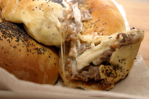 Pub Night: Philly Cheese Steak Buns