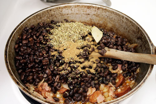 Lazybones Feijoada Com Arroz: Brazilian Black Beans with Rice | Choosy ...