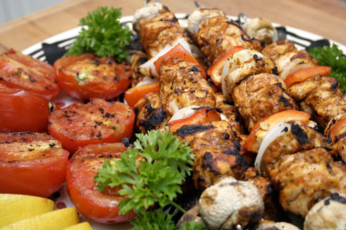 Shish Taouk: Lebanese Grilled Chicken Skewers