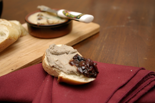 Sherried Chicken Liver Pate