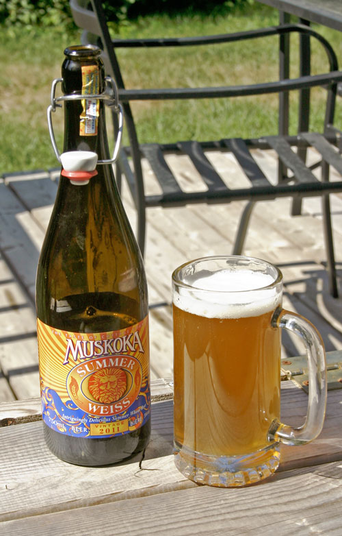 What to Drink This Week:  Muskoka Brewery Summer Weiss