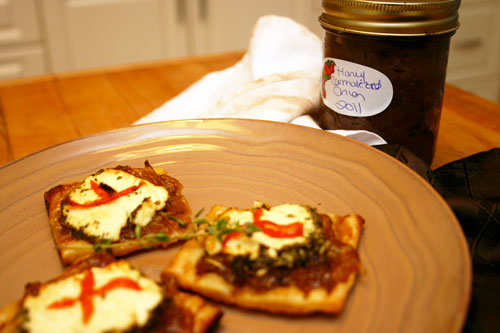 Caramelized Onion Jam with Honey and Herbs | Choosy Beggars