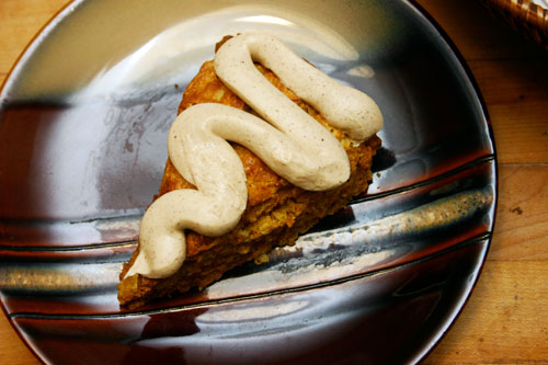 Spiced Pumpkin Scones with Brown Butter Icing