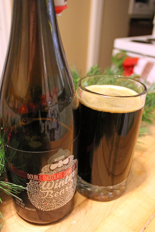 What to drink this week:  Muskoka Winter Beard