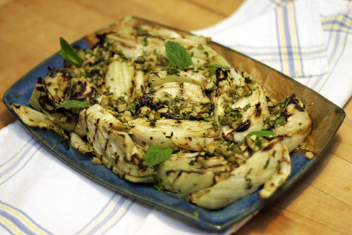 how to prepare grilled fennel