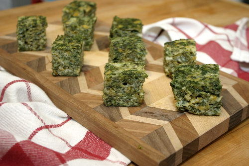 spinach cheese squares 7