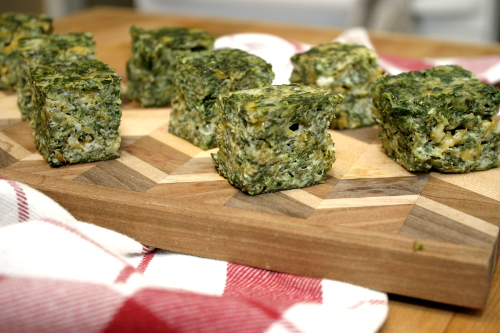 spinach cheese squares 8