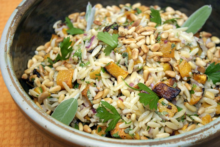 orzo with squash 10