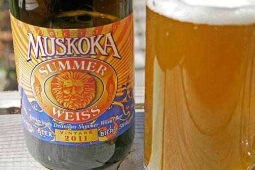 Muskoka Brewery Summer Weiss